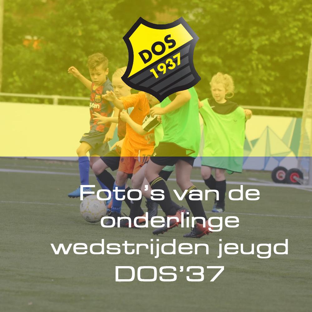 Foto's van de onderlinge wedstrijden jeugd DOS'37