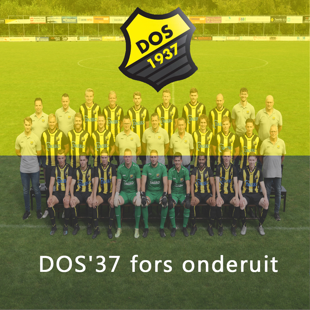 DOS'37 fors onderuit