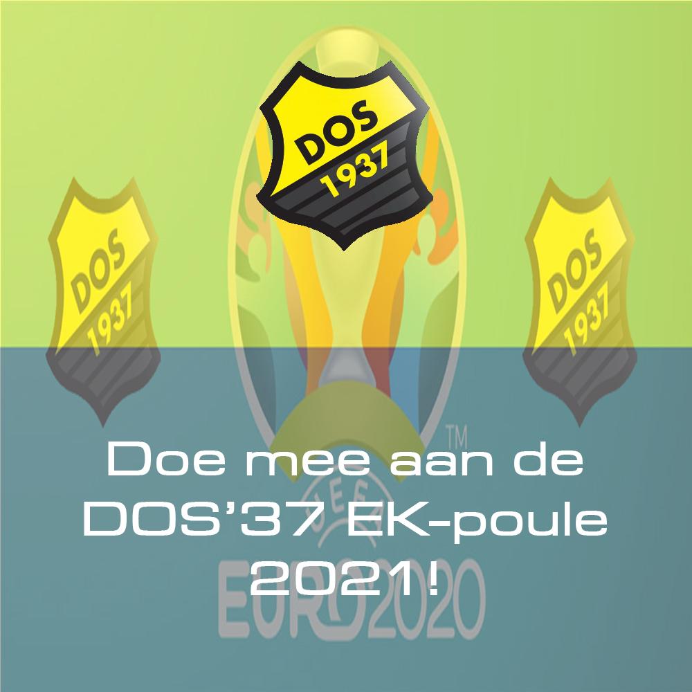 Doe mee aan de DOS'37 EK-poule 2021!