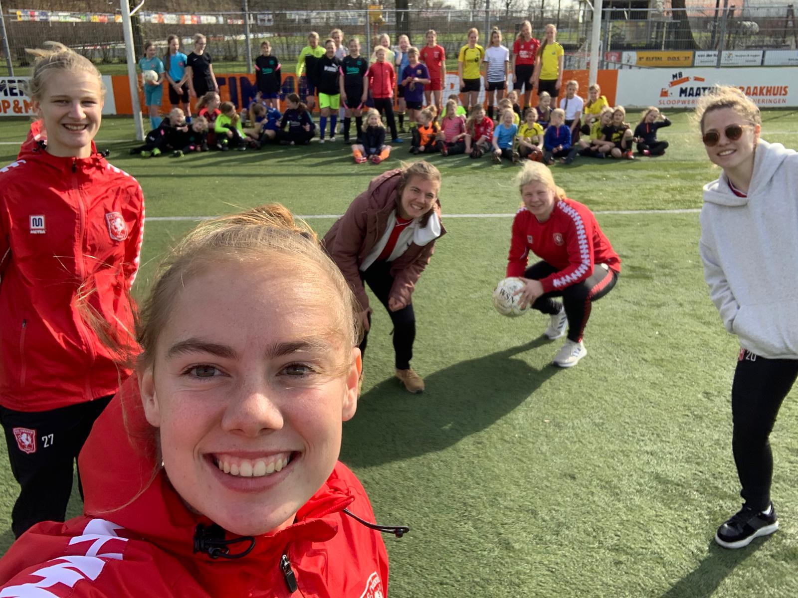Geslaagde FC Twente Meidendag bij DOS'37