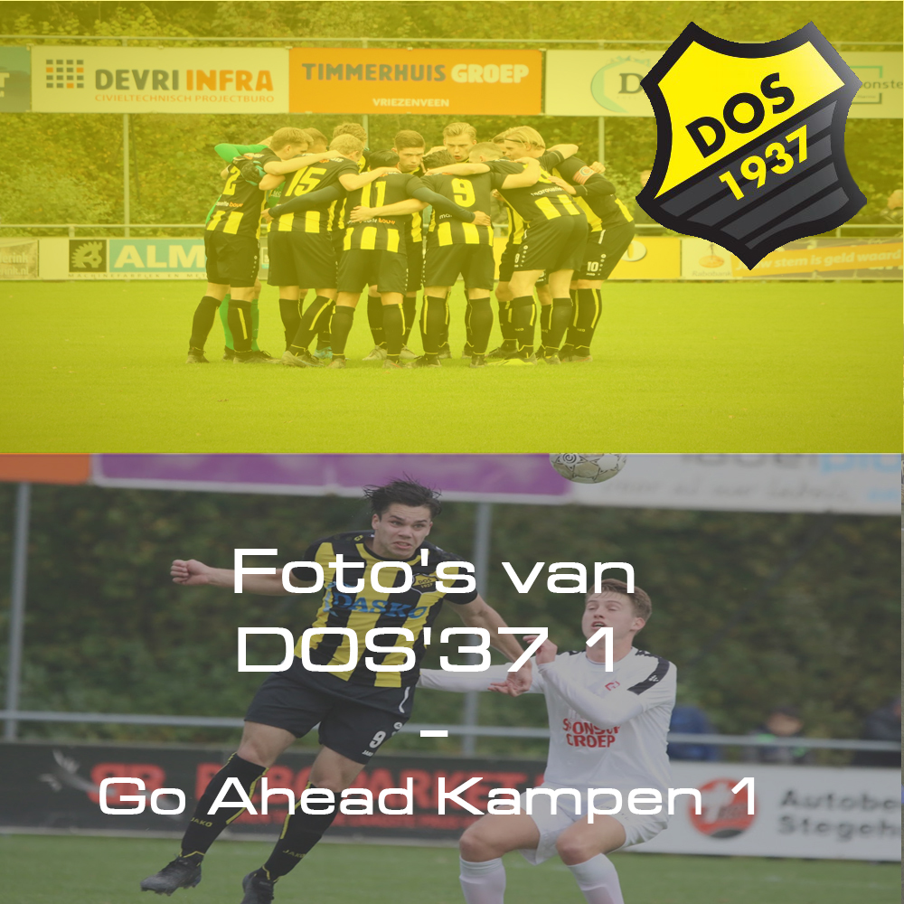 Foto's van DOS'37 1 - Go Ahead Kampen 1