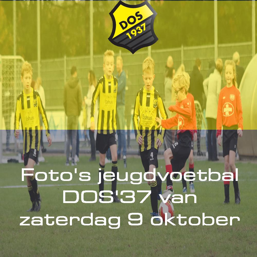 Foto's jeugdvoetbal DOS'37 van zaterdag 9 oktober