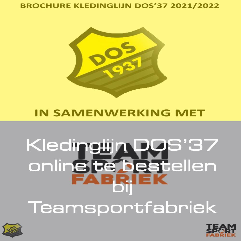 Kledinglijn DOS'37 online te bestellen bij Teamsportfabriek