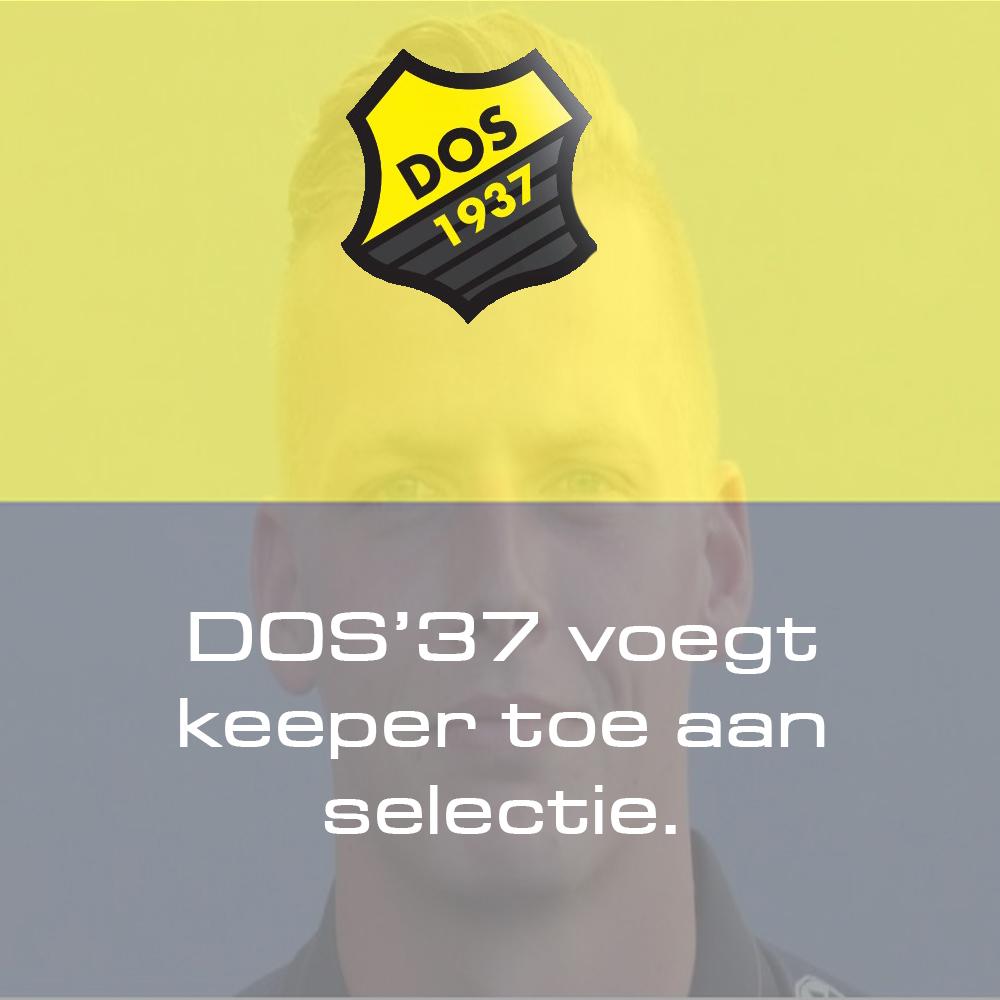 DOS'37 voegt keeper toe aan selectie.